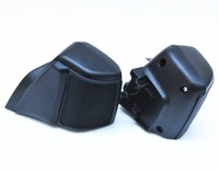 Pair Motorcycle Upper Speaker Cover Loudspeaker Box Shield ABS Fairing Body Guard L R For Honda
