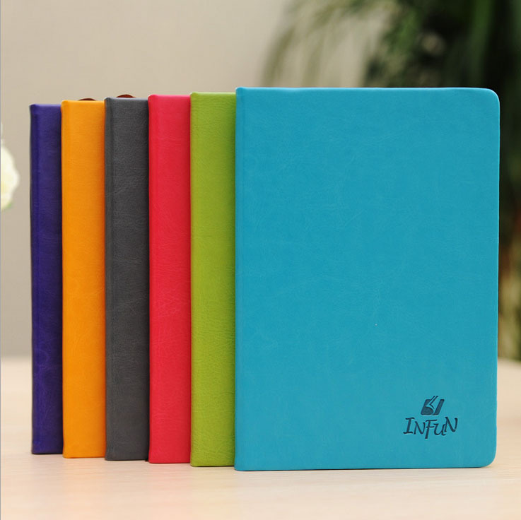 Leather Notebook paper Diary 100 sheets A5 Multicolor Note book Notepad Creative Trends Office School Supplies