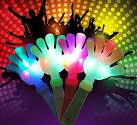 20pcs Lot Flash Led Luminescent Hands Clap Party Use Hot Sale Led Light Hand Applaud 2016