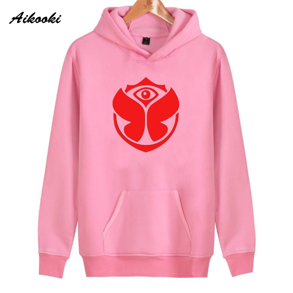 Hoodies women/men Sweatshirt Tomorrowland rock Aikooki Casual Sweatshirt Women Hoodies Men Hip Hop Hoodies harajuku Hoodie tops