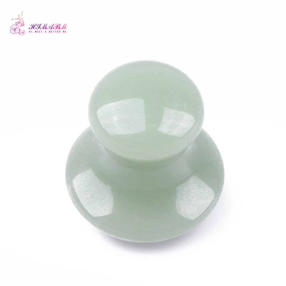 HIMABM Natural Aventurine Mushroom Massage Stone For Health Body Reiking Healing Relax Tool Acupunture Point dark Circles Remove in Massage Relaxation from Beauty Health