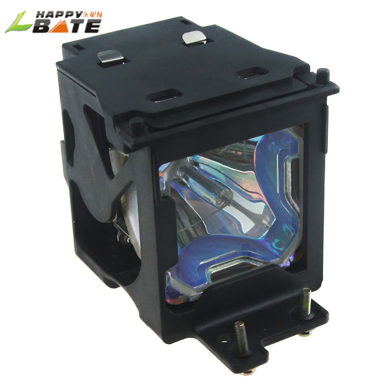 HAPPYBATE ET-LAE500 Projector Lamp/Bulb with housing  for PT-L500U PT-AE500 PT-L500U PT-AE500U Projector original replacement bare bulb panasonic et lal500 for pt lb280 pt tx400 pt lw330 pt lw280 pt lb360 pt lb330 pt lb300 projectors