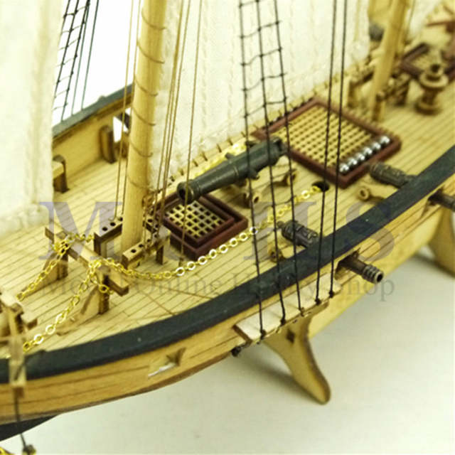 US $21 89 |sailing Halcon COMBO assembly model kits classical wooden  sailing boat model scale wooden assembly ship model building kits-in Model