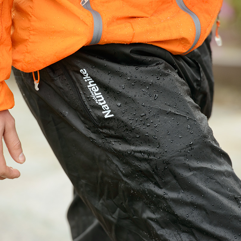 Naturehike Rain Pants Rainproof Outdoor Hiking Trekking Waterproof Breathable Men Women Zipper bike climbing Snow Rain Trousers