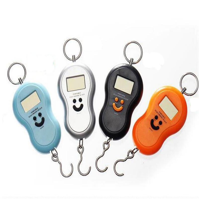 Portable Hanging Scale 50Kg/10g LCD Digital Scales BackLight Fishing Pocket Electronic Weight Scales Luggage Scales