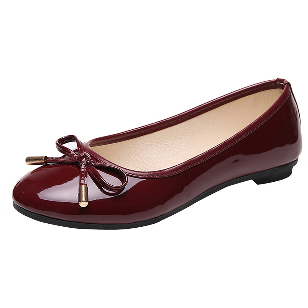Leather Shoes Women Butterfly-knot Loafers Women Flats Ballet Autumn Winter Casual Flat Shoes Woman Moccasins Zapatos Mujer 2018 new genuine leather flat shoes woman ballet flats loafers cowhide flexible spring casual shoes women flats women shoes k726