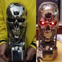 OGRM Replica Resin Terminator T800 1 1 Scale Skull Endoskeleton Lift Size Bust Figure LED EYE