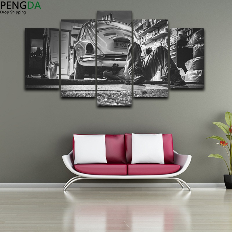 Modularen Bilder HD Druck Leinwand Rahmen Ölgemälde Wandkunst 5 ...