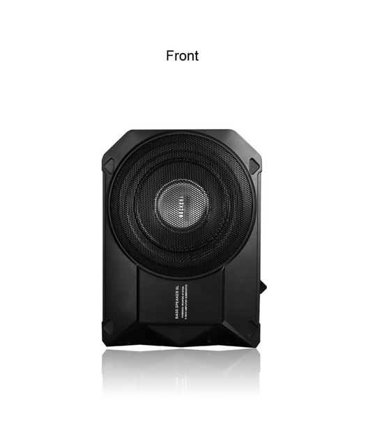 New Car audio conversion slim active Genuine ultra-thin Super Strong Car Subwoofer Bass woofer Built in 250w High Power Amplifer 1