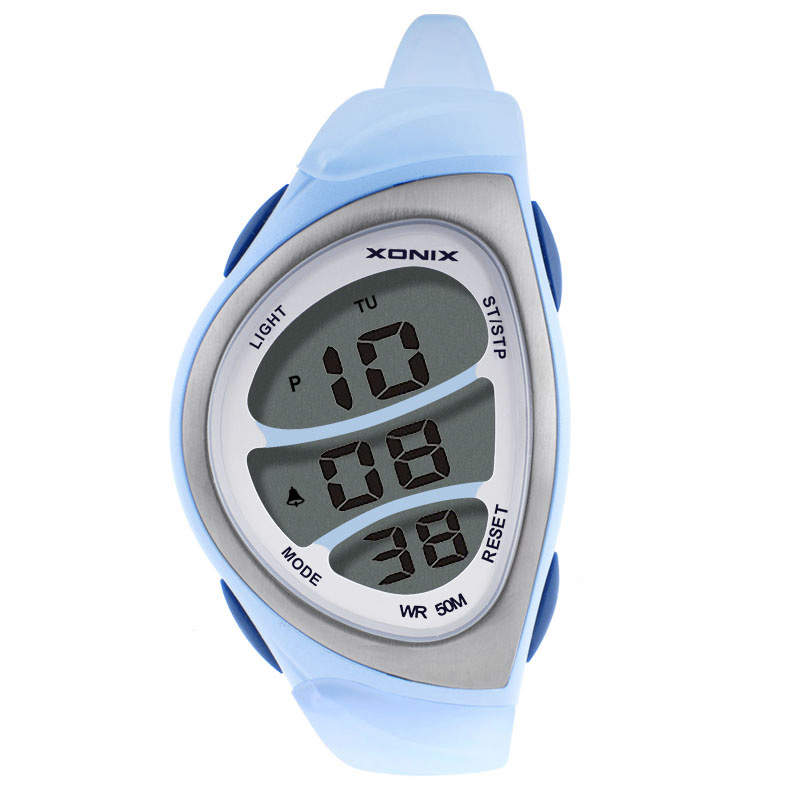 Precision Fashion Watchs  Women Sports Watches Waterproof 50m Ladies Jelly Digital Watch Swimming Diving Hand Clock Montre Femme