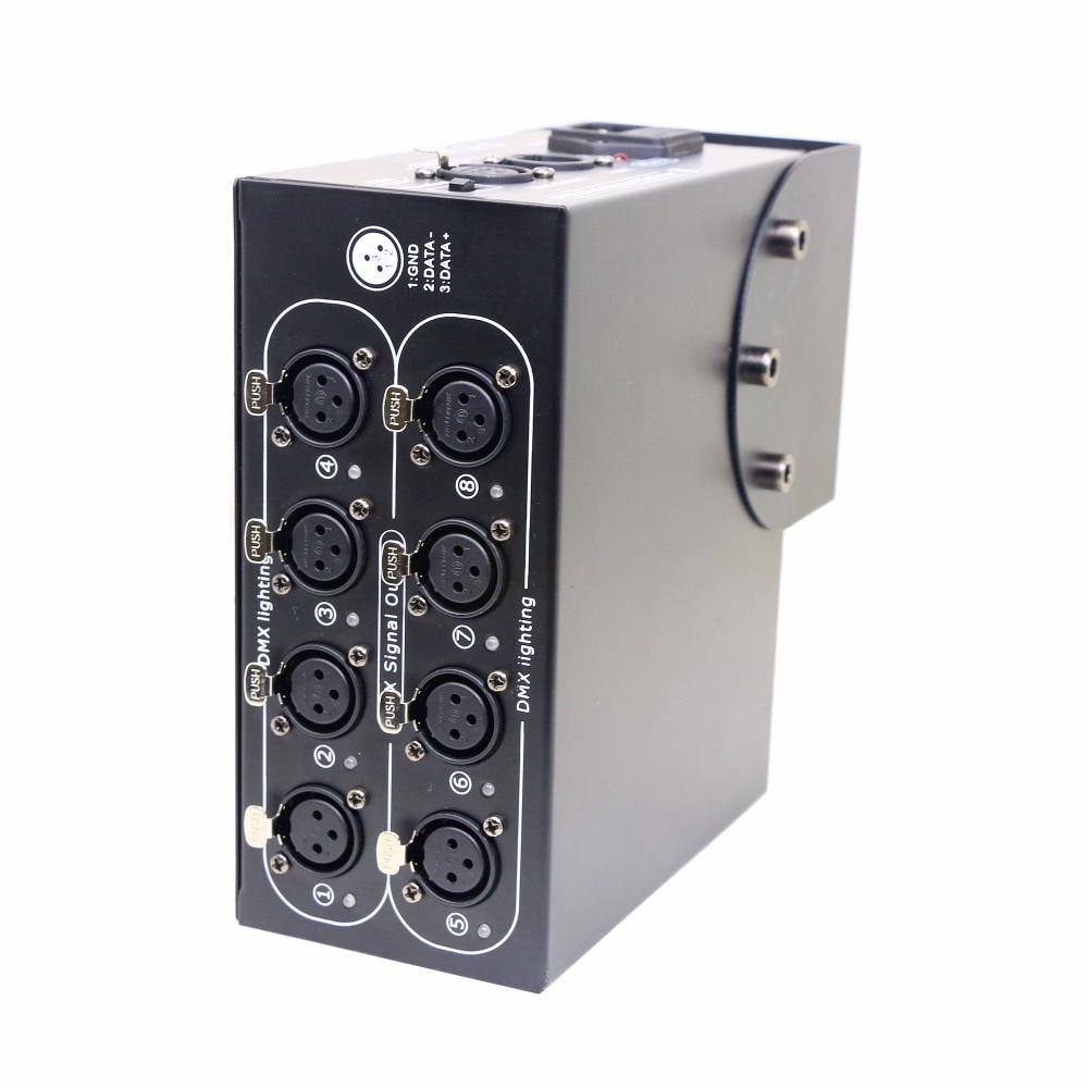 AC100 240V 8CH Splitter DMX 8ch DMX512