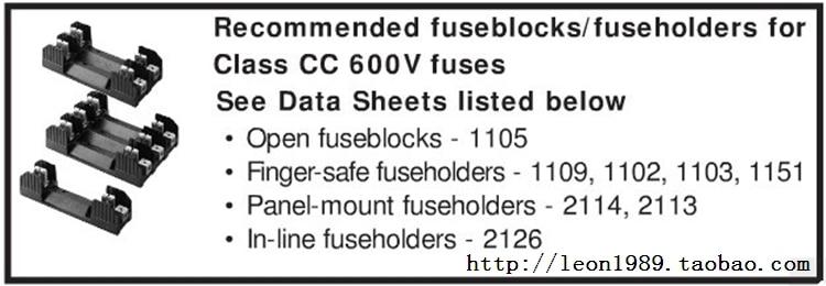Importações Bussmann CC-TRON atraso fusível FNQ-R-1 4