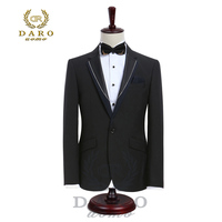 2017 DARO Mens Suit Terno Slim Fit Casual One Button Fashion Blazer Side Vent Jacket And