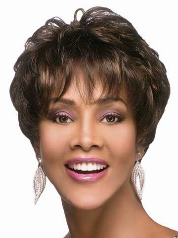 Fashion Cheap Shag Style African American Synthetic Wigs