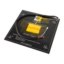 Rifornimento della fabbrica Ender 3 Pro/Ender 5 Riscaldata Telaio del Letto Per Ender 3 Pro/Ender 5 3D Parti Della Stampante Nero Heatbed Alluminio