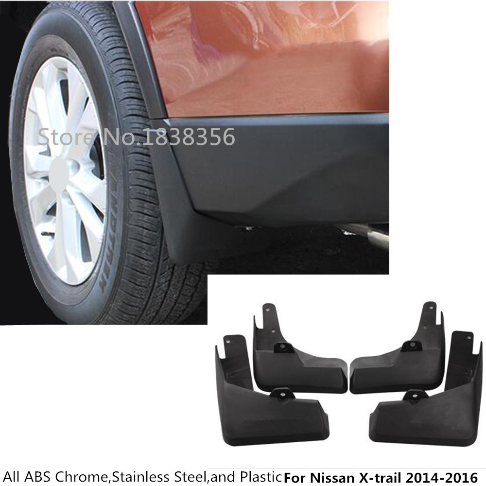 Ultra Soft Car Fender Covers: For Nissan X Trail Xtrail T32/Rogue 2014 2015 2016 Car
