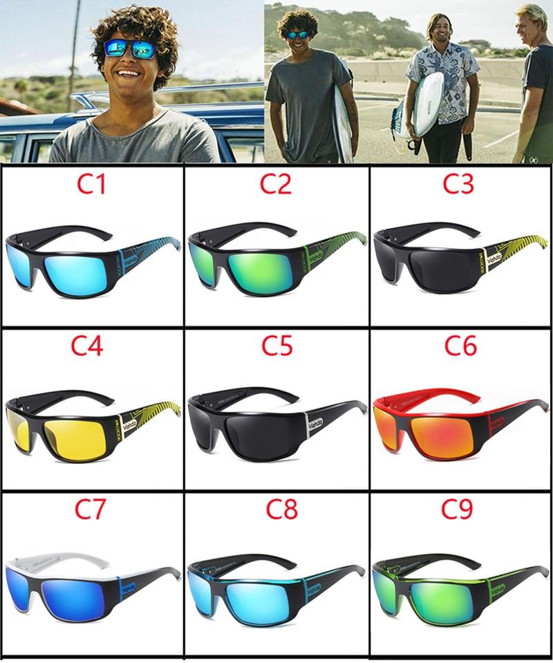 Image 3 - VIAHDA DESIGN Men Classic Polarized Sunglasses Male Sport Fishing Shades Eyewear UV400 Protection-in Men's Sunglasses from Apparel Accessories