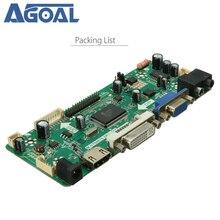 M.NT68676.2A плата контроллера LCD светодиодный, плата драйвера для ноутбука с аудиовходом NT68676 (UFG) VGA DVI