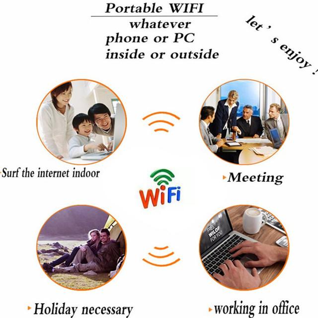 4G WIFI Router Car Mobile Hotspot Wireless Broadband Pocket Mifi Unlock LTE Modem Wireless Wifi Extender Repeater Mini Router