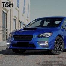 Tcart auto LED Feux Diurnes Accessoires Pour Subaru WRX 2015 2016 ABS 12 v  blanc DRL 09e355320290