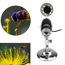 Cheapest prices Practical Electronics 2MP USB 8 LED Digital Camera Microscope Endoscope Magnifier 50X~500X Magnification Measure