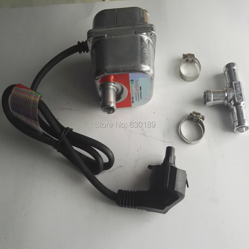 ¡(DHL/Post) 1500 W 220 de 230 V AC precalentador/precalentamiento/calefacción de motor del motor de coche SUV RV camión automóvil! Webasto calentador de agua