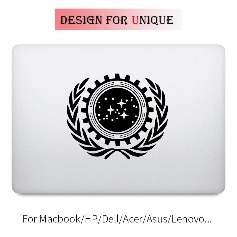 Star Wars Trek Flag Laptop Decal Sticker for font b Apple b font font b Macbook
