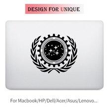 Star Wars Trek Flag Laptop Decal Sticker for Apple Macbook Pro Air Retina Touch Bar 11 12 13 15 inch Mac HP Notebook Skin Decal