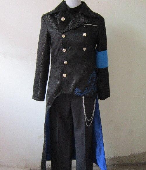 Оптовая продажа Лидер продаж Новое поступление DMC Devil May Cry 5 Вергилий Косплэй костюм