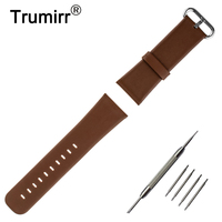 22mm Genuine Leather Watch Band For Motorola Moto 360 2 Gen 46mm 2015 Smartwatch Replacement Strap