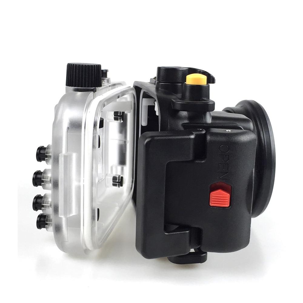 Seafrogs for Canon PowerShot G9X  G9X II 40m 130ft Meikon Underwater camera housing