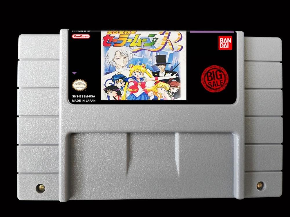 Giochi 16Bit ** Piuttosto Soldier Sailor Moon R (USA Version!! traduzione in Inglese!!)