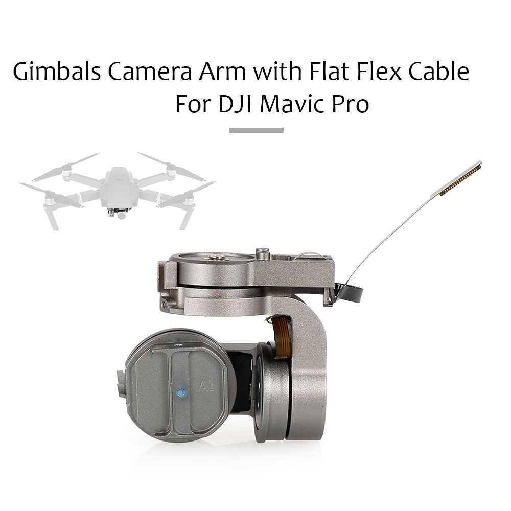Brazo de cámara Gimbals con Cable flexible plano pieza de reparación para DJI Mavic Pro Drone Quadcopter