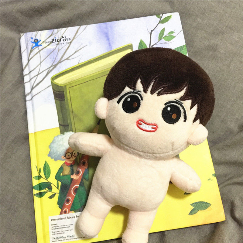 Kpop Bts Bangtan Boys V 20cm/8 Plush Toy Stuffed Doll Fanmade Gift Collection Fine Craftsmanship clothes Not Included
