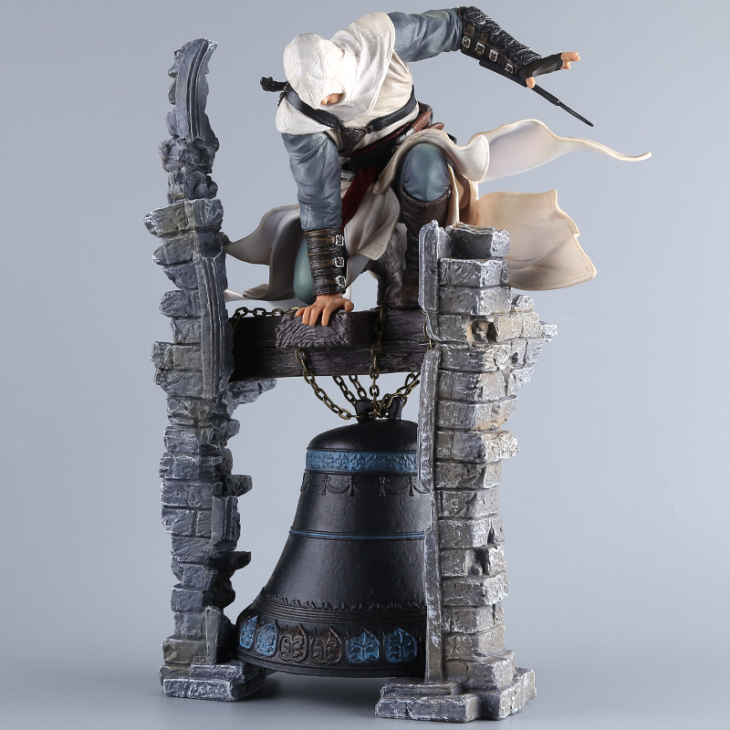Assassin's Creed UBISOFT Altair Clock tower 28cm PVC Legendary Assassin Statue Action Figure Collectible Model Toy neca 7 assassins creed altair ezio action figure pvc doll model collectible toy gift