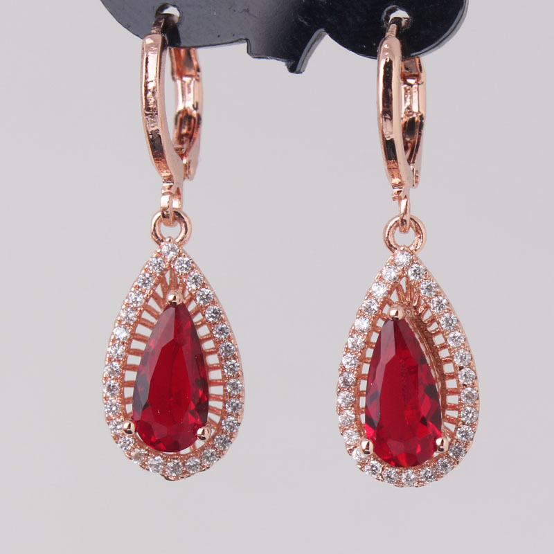 2017 dangle earrings jewelry brand new gold