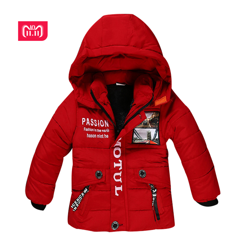 2-5YNew Boy Winter Jacket High quality Cotton-Padded Hooded Fashion Kids Coat Warm Children Outerwear 3 color clothing все цены