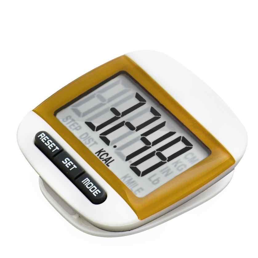 Podomètre de marche numérique LCD Premium compteur de calories pince de ceinture de course à Distance nouveaux cadeaux