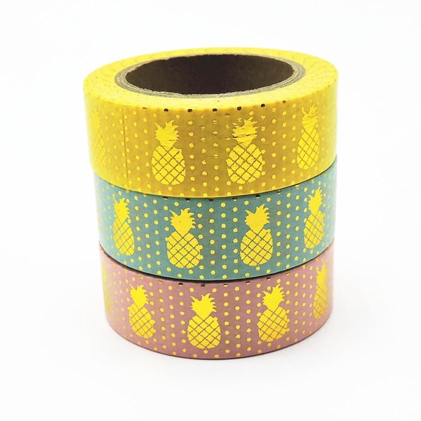 New Foil Washi Tape Scrapbooking Tools Cute Decorative   Japanese Stationery Washi Tapes Scrapbook Mask