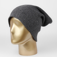 New 2017 Wool Winter Hat Grid Pattern Men Women Casual Knitted Warm High Quality Vogue Hat