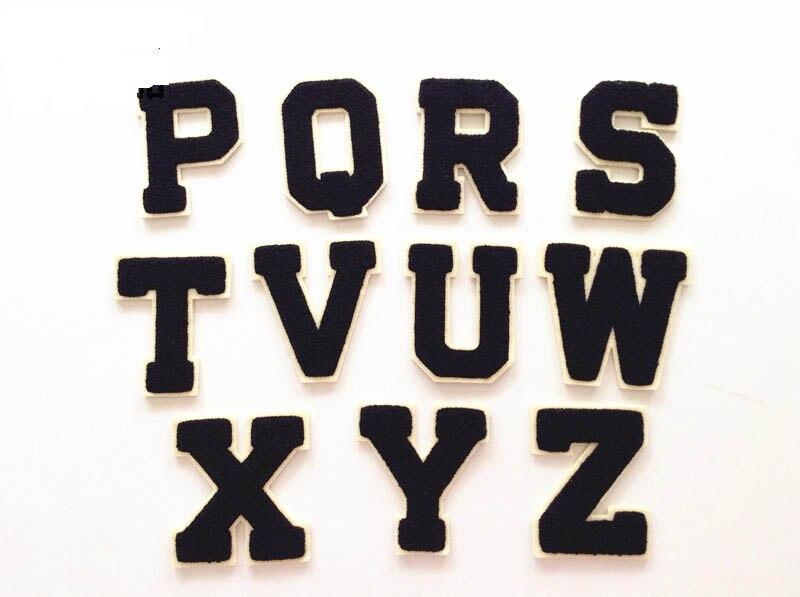 d329492e6 FRETE Grátis chenille patches personalizadas para o 26 letras A Z como  costurar na roupa em Apliques de Home & Garden no AliExpress.com   Alibaba  Group