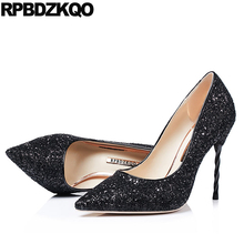 81107aba7c5 Buy high heels silver sparkle and get free shipping on AliExpress.com