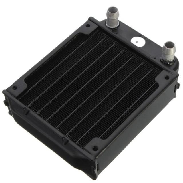 80mm Aluminium Computer Radiator Waterkoeling Koeler Voor Computer Chip CPU GPU VGA RAM Heatsink Warmtewisselaar