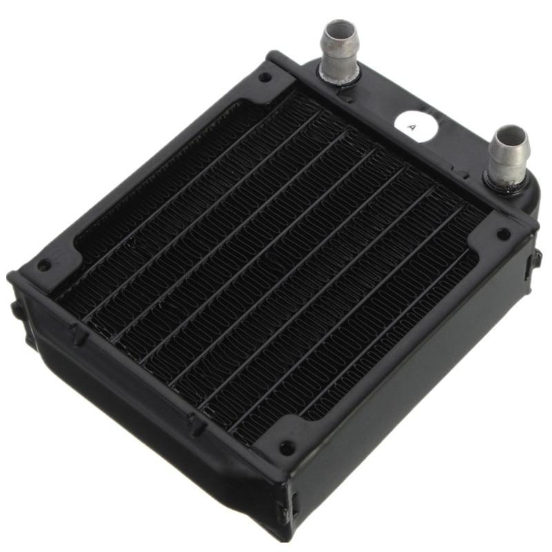 80mm Aluminum Computer Radiator Water Cooling Cooler For Computer Chip CPU GPU VGA RAM Heatsink Heat Exchanger