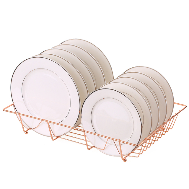 Kitchen Dishes Basket Organizer Pot Lid Rack  Bowl Storage Rack Cooking Dish Rack Pan Cover Stand Kitchen Accessories