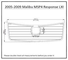 2005-2009 Malibu MSP4 Response LXl With Hatch Cut Out Boat Swim Platform Pad Boat EVA Teak Decking 1/4″6mm