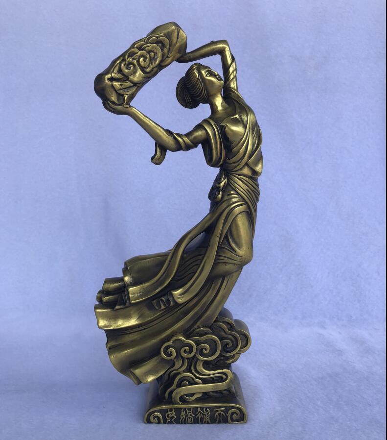 Бронзовый Скорпион заверения sky открытие scorpion статуя богини мама и дочь БРОНЗА статуя ремесел