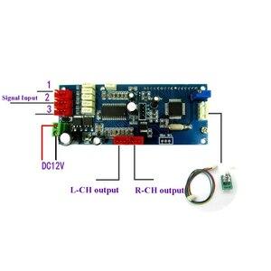 Image 2 - Lusya 3 Way wejście Audio 4 kanałowy PT2313 dźwięk cyfrowy pokładzie z wyświetlaczem LCD dla samochodów osobowych poza LM1036 NE5532 przedwzmacniacz A5 016