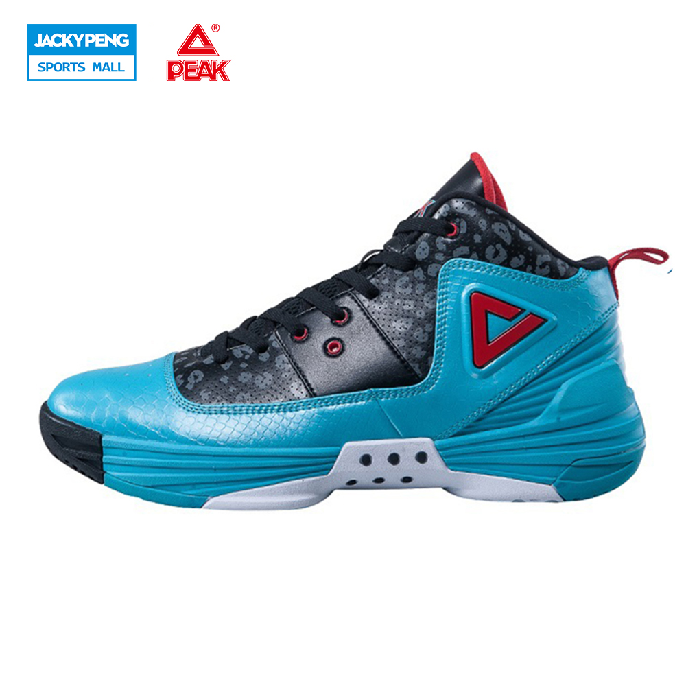 PEAK SPORT Monster II Men Basketball Shoes FOOTHOLD Tech Sneaker Non-Slip Breathable Comfortable Athletic Ankle Boots EUR 40-50 peak sport star series george hill gh3 men basketball shoes athletic cushion 3 non marking tech sneakers eur 40 50