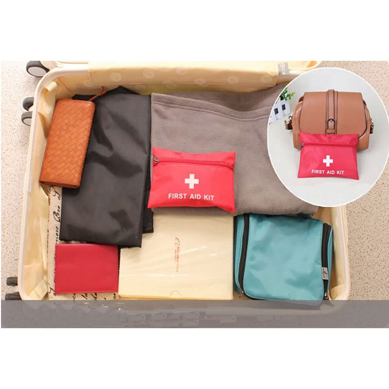 Image 5 - Mini Waterproof Portable Outdoor First Aid Kit EVA Bag For Emergency Treatment In Travel And At Home-in Emergency Kits from Security & Protection
